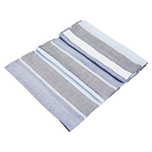 Buy Viyella Multi Striped Scarf, Blue Online at johnlewis.com