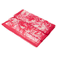 Buy Viyella Floral Silk Chiffon Scarf, Raspberry Online at johnlewis.com