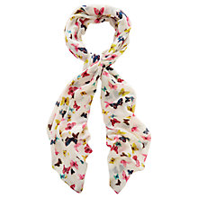 Buy Oasis Butterfly Scarf, Multi Online at johnlewis.com