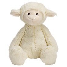 Buy Manhattan Toy Lindy Lamb, Medium Online at johnlewis.com