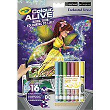 Buy Crayola Colour Alive Enchanted Forest Online at johnlewis.com