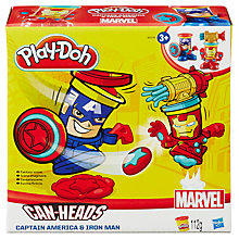 Buy Play-Doh Marvel Can-Heads, Assorted Online at johnlewis.com