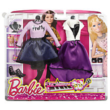 Buy Barbie Fashion Outfit Pack, Assorted Online at johnlewis.com
