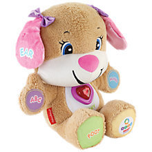 Buy Fisher-Price Laugh & Learn Smart Stages Puppy Sis Online at johnlewis.com
