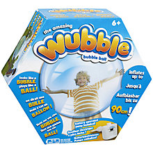 Buy Wubble Bubble Ball, Assorted Online at johnlewis.com