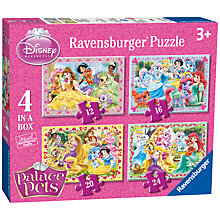 Buy Ravensburger Disney Princess Palace Pets Jigsaw Puzzle, Box of 4 Online at johnlewis.com