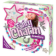 Buy Craft Box Make Your Own Fairy Charm Jewellery Online at johnlewis.com