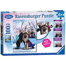 Buy Ravensburger Disney Frozen Spot The Difference Jigsaw Puzzle Online at johnlewis.com
