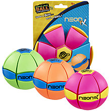 Buy Phlat Ball Junior, Neon, Assorted Online at johnlewis.com