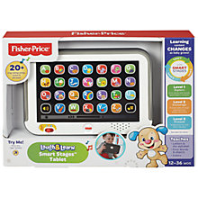 Buy Fisher-Price Laugh & Learn Smart Stages Tablet Online at johnlewis.com