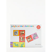 Buy John Lewis Jungle Animal Dominoes Set Online at johnlewis.com