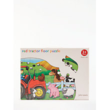 Buy John Lewis Red Tractor Floor Jigsaw Puzzle Online at johnlewis.com