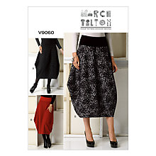 Buy Vogue Women's Skirts Sewing Pattern, 9060 Online at johnlewis.com