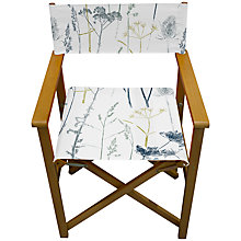 Buy John Lewis Botanical Director's Chair Online at johnlewis.com