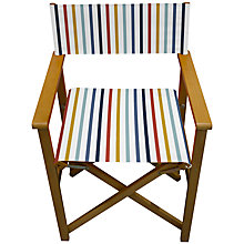 Buy John Lewis Summer Stripe Director's Chair Online at johnlewis.com