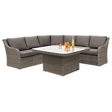 Buy KETTLER Madrid Rattan Corner Set Online at johnlewis.com