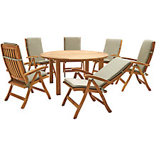 Buy KETTLER Vancouver 6-Seater Outdoor Dining Set Online at johnlewis.com
