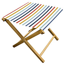Buy John Lewis Summer Stripe Garden Stool, FSC-Certified Online at johnlewis.com