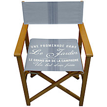 Buy John Lewis Maison Stripe Director's Chair Online at johnlewis.com