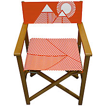 Buy House by John Lewis Geometric Director's Chair Online at johnlewis.com