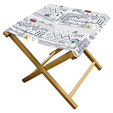 Buy John Lewis Nordic Harbour Garden Stool Online at johnlewis.com