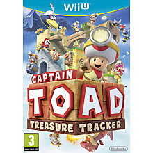 Buy Captain Toad Treasure Tracker, Nintendo Wii U Online at johnlewis.com