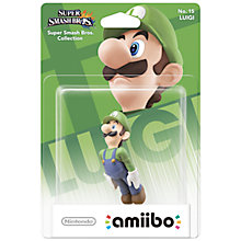 Buy Amiibo: Smash Luigi, Nintendo Wii U Online at johnlewis.com