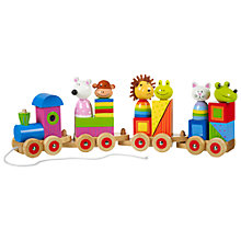 Buy Orange Tree Animal Puzzle Train Online at johnlewis.com