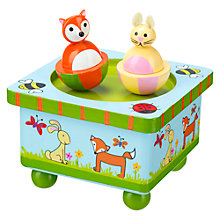 Buy Orange Tree Woodland Friends Music Box Online at johnlewis.com