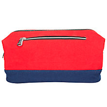 Buy John Lewis Canvas Wash Bag Online at johnlewis.com