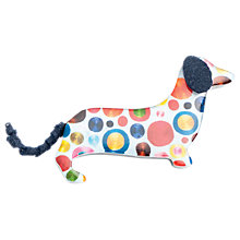 Buy One Button Spotty Dog Resin Brooch, Multi Online at johnlewis.com