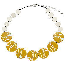 Buy One Button Short Round Disc Necklace Online at johnlewis.com