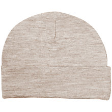 Buy Merino Kids Cocooi Swaddle & Hat, Honey Oat Online at johnlewis.com