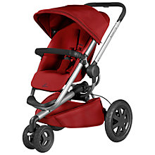 Buy Quinny Red Rumour Buzz Xtra Pushchair with Free Car Seat Online at johnlewis.com
