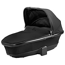 Buy Quinny Foldable Carrycot, Black Devotion Online at johnlewis.com