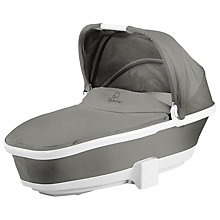 Buy Quinny Foldable Carrycot, Grey Gravel Online at johnlewis.com
