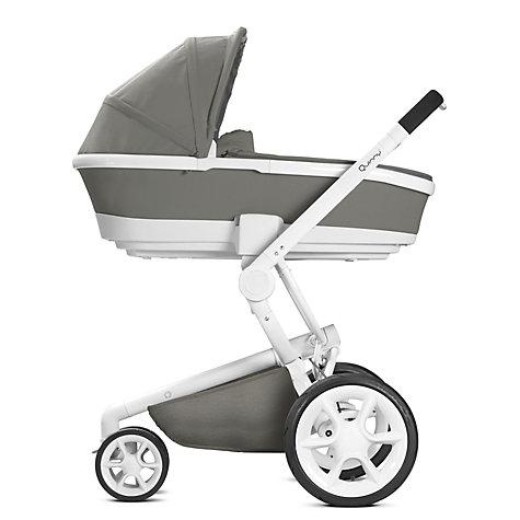 Buy Quinny Foldable Carrycot Grey Gravel John Lewis