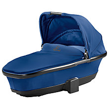 Buy Quinny Foldable Carrycot, Blue Base Online at johnlewis.com