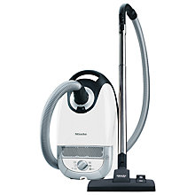 Buy Miele Compact C2 EcoLine Plus Cylinder Vacuum Cleaner, White Online at johnlewis.com