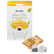 Buy Dualit English Breakfast Fine Tea Capsules Online at johnlewis.com