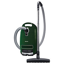 Buy Miele Complete C3 Ecoline Cylinder Vacuum Cleaner with HEPA 13 Filter, Green Online at johnlewis.com