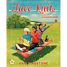 Buy Rowan Lace Knits Instructions Book By Anne Kingstone Online at johnlewis.com