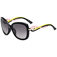 Buy Christian Dior Dior Twisting Square JXGEU Sunglasses, Pink Online at johnlewis.com
