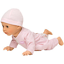Buy Baby Annabell Learns To Walk Doll with Outfit On Hanger, Assorted Online at johnlewis.com