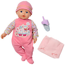 Buy Zapf My First Baby Born Bathing Fun Doll Online at johnlewis.com