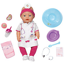 Buy Zapf Baby Born Doctor Doll with Additional Outfit Online at johnlewis.com