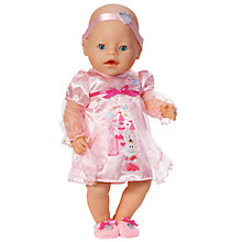 Buy Zapf Baby Born Princess Sleeping Doll with Sleeping Dress Online at johnlewis.com
