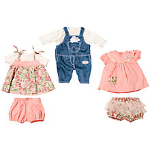 Buy Zapf My First Baby Annabell Oufits, Set of 3 Online at johnlewis.com