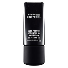 Buy MAC Prep + Prime Face Protect Lotion SPF 50, 30ml Online at johnlewis.com