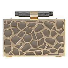 Buy Coast Matilda Clutch Bag, Gold Online at johnlewis.com